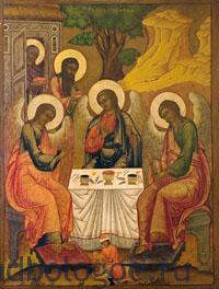Икона-Святой-Живоначальной-Троицы-Рублева